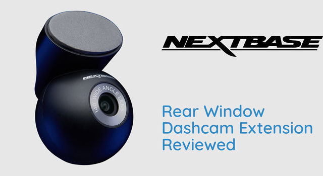 Nextbase Compatible Rear Window Dash Cam